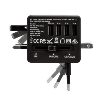 Veho® TA-1 USB World Travel Plug