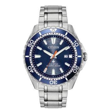 Citizen Men's Eco-Drive Promaster Diver Stainless Steel Watch