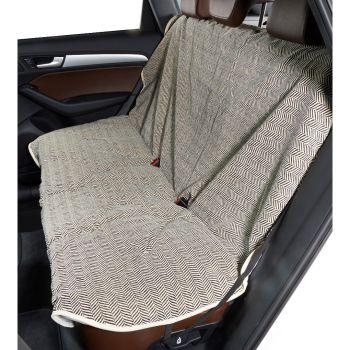 Bowsers Luxury Back Seat Cover - Herringbone