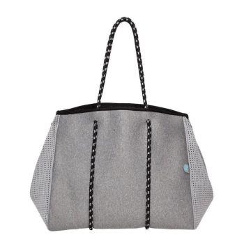 Bag and Bougie Granite Tote
