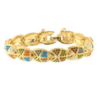 Creed Semi-Precious Stone Mosaic Bracelet