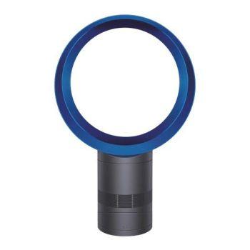 """Dyson AM06 12"""" Desk Fan - Iron/Blue"""