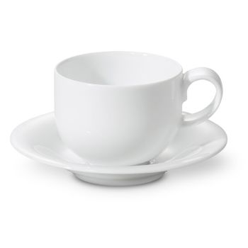 Fontignac 4-Piece Coffee Cup and Saucer Set