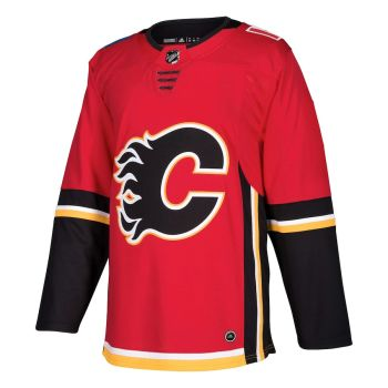 A.J. Sportsworld Calgary Flames Adidas Adizero Authentic Red Hockey Jersey - Large