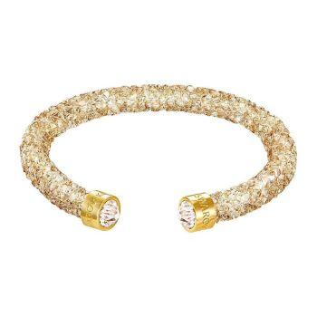 Swarovski Crystaldust Cuff Bracelet - Medium - Gold
