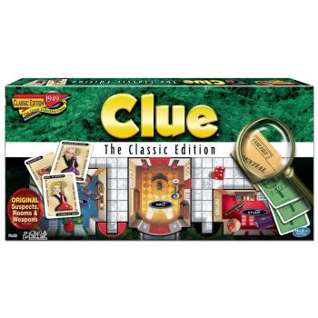 Winning Moves® Games Clue® Classic Edition