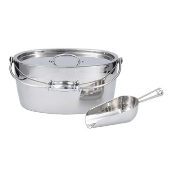 Crafthouse by Fortessa™ Oval Ice Bucket with Scoop Set