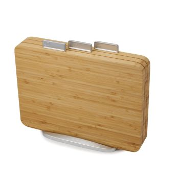 Joseph® Joseph Index™ Bamboo Chopping Board Set