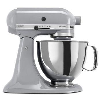 KitchenAid® Artisan® Series 5 Quart Tilt-Head Stand Mixer - Metallic Chrome