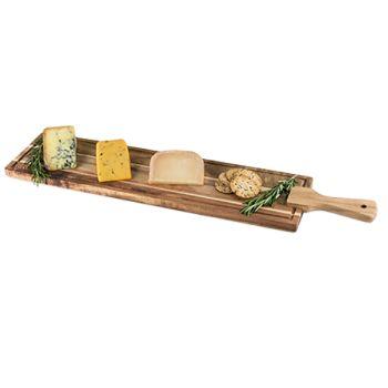 Twine Rustic Farmhouse Acacia Wood Tapas Board