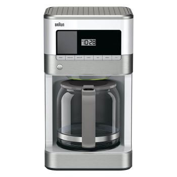 Braun BrewSense 12-Cup Drip Coffee Maker - White