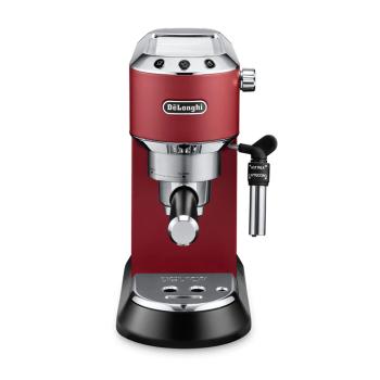 De'Longhi Dedica Deluxe Manual Espresso Machine/Cappuccino Maker - Red