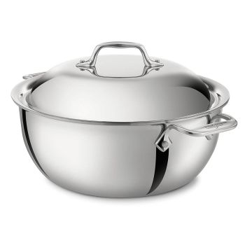 ALL-CLAD Stainless 5.5-Quart Dutch Oven