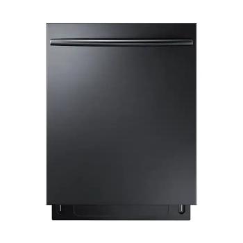 Samsung DW80K7050 Black Stainless Third Rack Dishwasher with StormWash