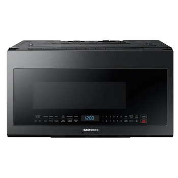 Samsung ME21M706BAG 2.1 cu. ft Microwave Oven with Glass Touch Bottom Control