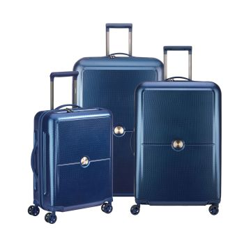 Delsey Turenne 3-Piece Luggage Set - Navy