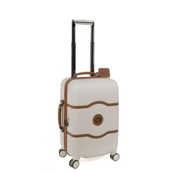 Delsey Chatelet Plus 19'' Carry-on Spinner Trolley - Champagne