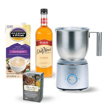 Capresso Froth Select Automatic Milk Frother Bundle