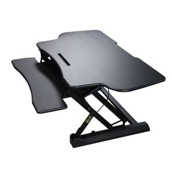 "Boost Industries STS-DR46ii 46"" Sit-to-Stand Standing Desk Riser - Black"