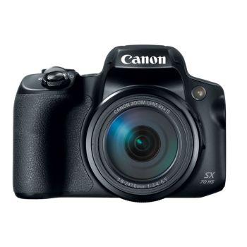 Canon PowerShot SX70 HS Digital Camera - Black
