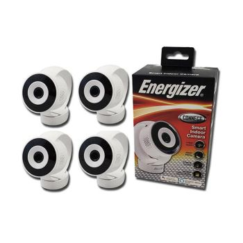Energizer Connect EIX1-1002-WHT Smart Indoor Camera - Set of 4