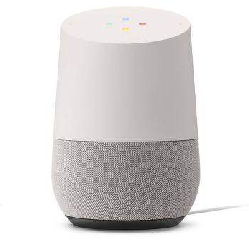 Google Home Voice Activated Speaker - White/Slate