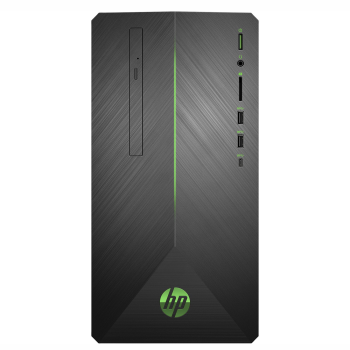 HP Pavilion 690-0019 Gaming Desktop PC with HP 2-Year Pickup and Return Desktop Service - (Monitor Not Included)