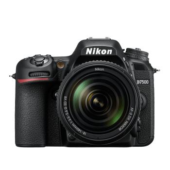 Nikon D7500 DSLR with 18-140mm VR Lens Kit