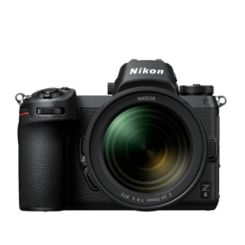 Nikon Z 6 Interchangeable Lens Mirrorless Camera with 24-70mm f/4 S Lens Kit