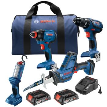 Bosch 18V 4-Tool Combo Kit