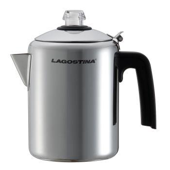 Lagostina® Stainless Steel Stove Top Percolator