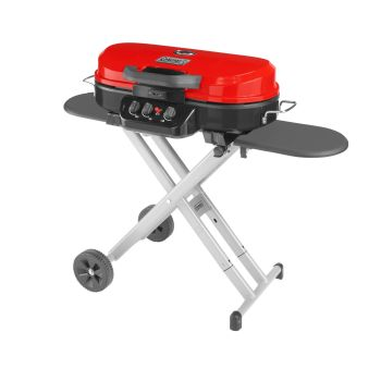 Coleman RoadTrip 285 Portable Stand-Up Propane Grill - Red