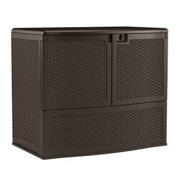 Suncast 195 Gallon Backyard Oasis® Storage and Entertaining Station