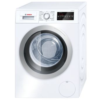 Bosch 500 Series 24'' Compact Washer - White/Silver