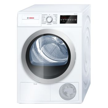 Bosch 500 Series 24'' Compact Condensation Dryer - White/Silver