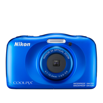 Nikon COOLPIX W150 Waterproof Digital Camera - Blue