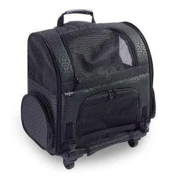 Gen7Pets® Roller Carrier - Black Geometric