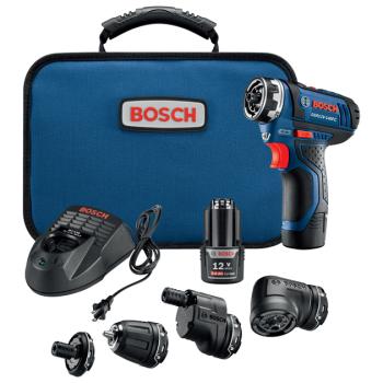 Bosch 12-Volt Max FlexiClick™ 5-in-1 Drill/Driver System