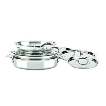 ALL-CLAD D3 Stainless Compact 7-Piece Set