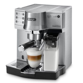 De'Longhi Dedica Pump Espresso Machine with Burr Coffee Grinder