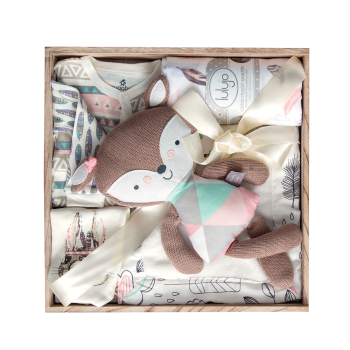 Peter & Paul's Gifts Baby Girl Baby Boo Gift Set