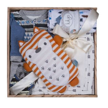 Peter & Paul's Gifts Baby Boy Baby Boo Gift Set