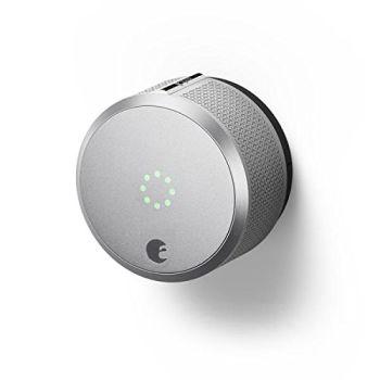 August Smart Lock - HomeKit™ Enabled - Silver