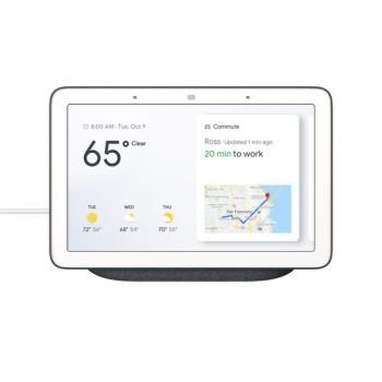 Google Nest Hub with Google Assistant - Charcoal