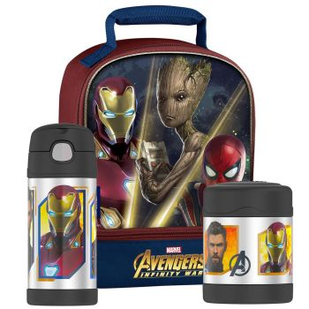Thermos Avengers Infinity War - 3 Piece Lunch Set