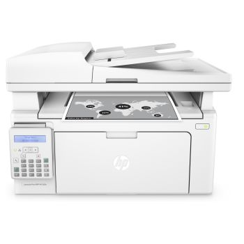 HP LaserJet Pro MFP M130fn All-in-One Printer, Copier, Scanner and Fax - White