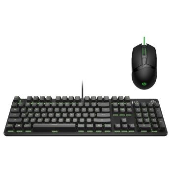 HP Pavilion USB Gaming Keyboard with Pavilion USB Gaming Mouse
