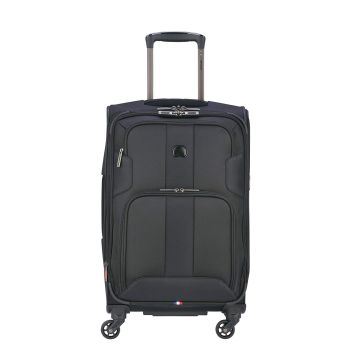 Delsey Volume Max 25'' Expandable Spinner Trolley - Black