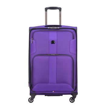 Delsey Volume Max 25'' Expandable Spinner Trolley - Purple