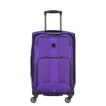 Delsey Volume Max 19'' Carry-on Spinner - Purple